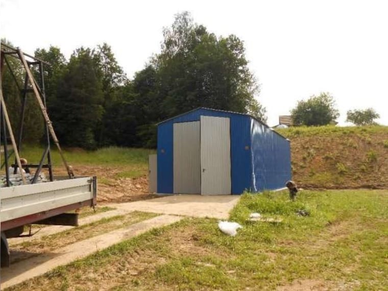 Fertiggarage blech  Blechgarage Fertiggarage Stahlhalle Garage... (Hermsdorf bei ...
